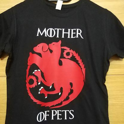 Foto de Camiseta Mother of Pets (GoT II)
