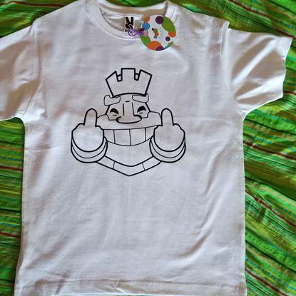 Foto de Camiseta para Colorear Tú Propones
