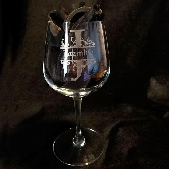 Foto de Copa de vino con nombre