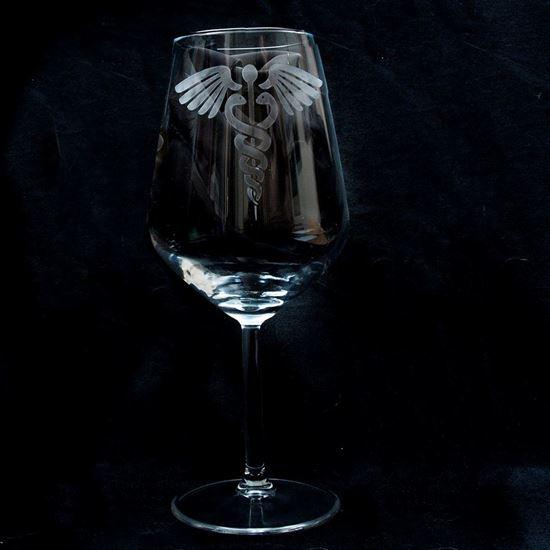 Foto de Copa de Vino con Profesiones