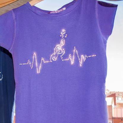 Foto de Camiseta Rhinestones Electro