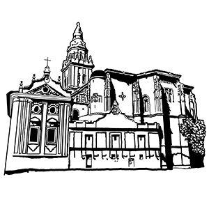 Iglesia de los Santos Juanes (Nava del  Rey)