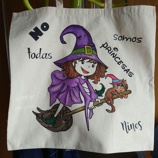 Foto de Bolsas de la compra para Pintar: Brujita