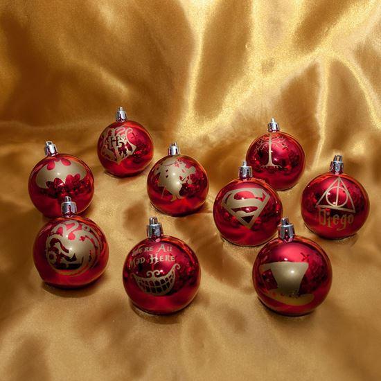 Foto de Bolas de Navidad Frikis